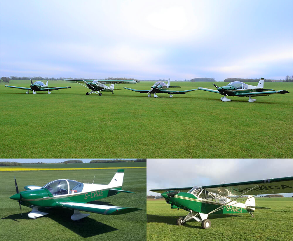 Learn to fly at Crowfield Airfield Suffolk