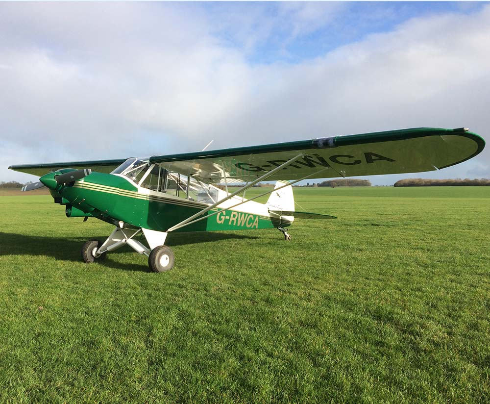 Light aircraft hire at Crowfield Airfield